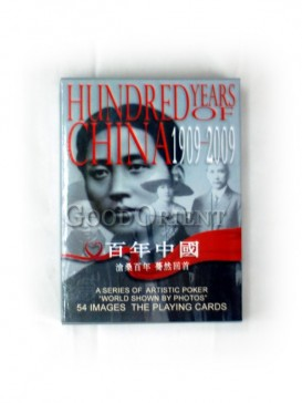 Hundreds Years Of China Poker