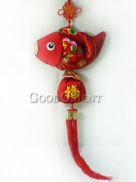 Red Fish Hanging Decoration