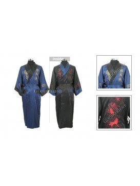 Fu Lu Shou Twin Dragons Men Robe