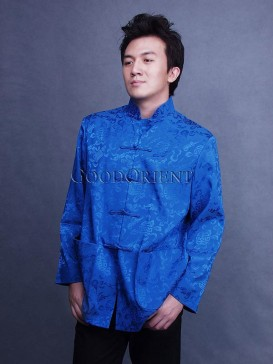 Blue Shou Icon Asian Jacket