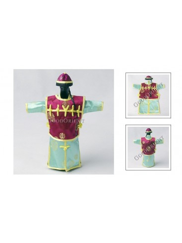 Chinese Qing Dynasty Suit Bottle Holder---Green