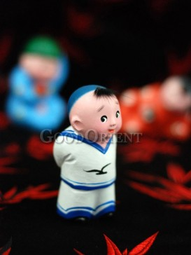 Happy Childhood Clay Figurine Series---