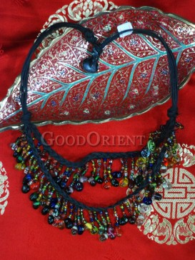 Colorful Crystal Tibetan Necklace