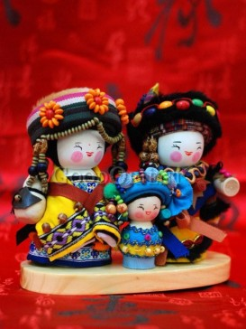 Chinese National Minority Doll---Pumi Clan