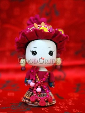 Chinese National Minority Doll---Zhuang Clan