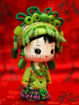Chinese National Minority Doll---Bao An Clan
