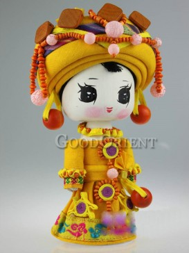 Chinese National Minority Doll---Ge Lao Clan