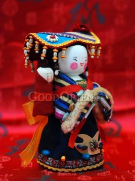 Chinese National Minority Doll---Dong Clan