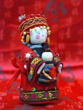 Chinese National Minority Doll---Dong Xiang Clan