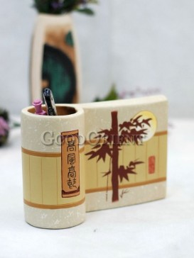 Painting Pen Holder Pottery Series---Bamboo