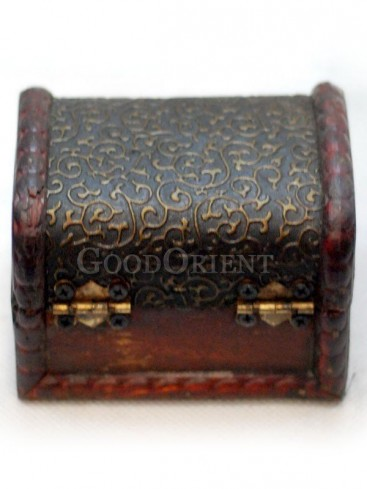 Carving Patterns Wooden Cosmetic Cases