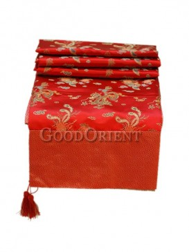 Red Phoenix Table Cloth