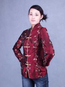 Embroidered Thai Silk Jacket