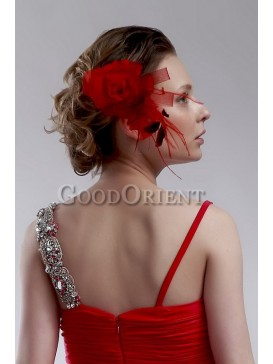 Best wedding accessories- Red Head Flower