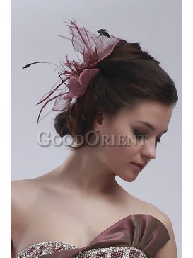 Best wedding accessories-Purple red hair flower