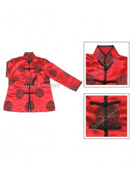 Red Chinese Lucky Jacket