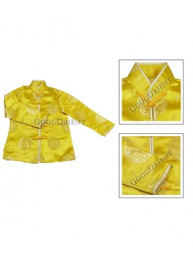 Yellow Chinese Lucky Jacket