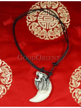 Pirates of the Caribbean series Ox Horn necklace-Lion