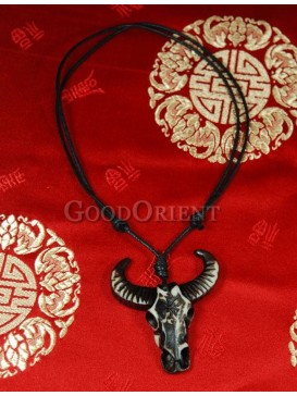 Pirates of the Caribbean series Ox Horn necklace-Bull