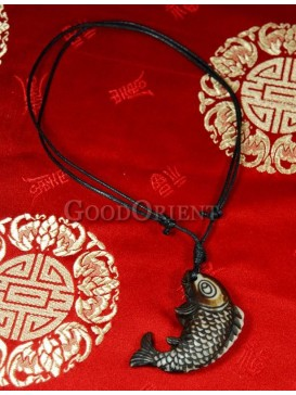 Pirates of the Caribbean series Ox Horn necklace-Fish