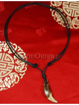 Crescent Tibetan style necklace