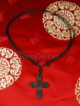 Archaize cross necklace