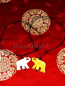 Powerful elephant necklace