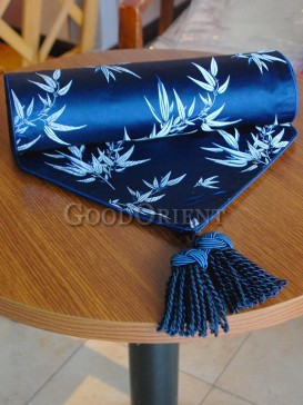 Navy Blue Noble Bamboo Table Runner