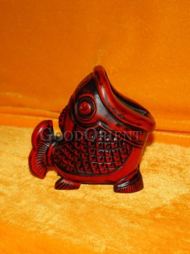 Vivid Fish image Decorative small article holder/container