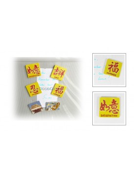 Porcelain Refrigrator Magnets---The Great Wall