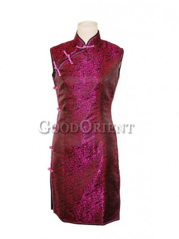 Chinese Fashionable Brocade Noble Qi Pao