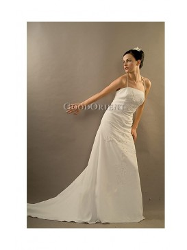Swanlike White Gown