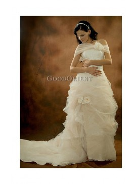 Swellelegous Rose Wedding Gown