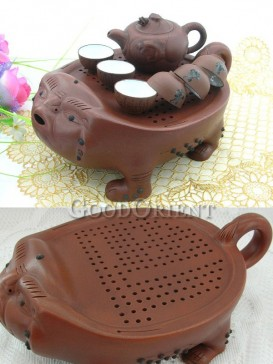Ceramic Tea set with children playing design pattern