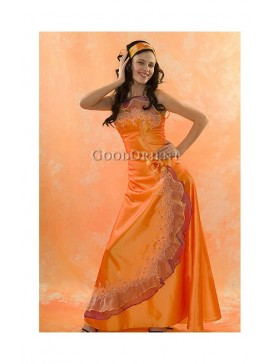 Orange Sunny Girl Dress