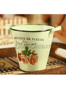 Colored Drawing Flower Pot Decoration