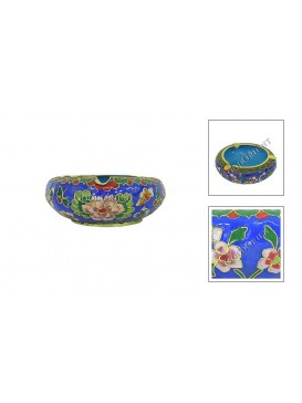Floral Cloisonne Ashtray