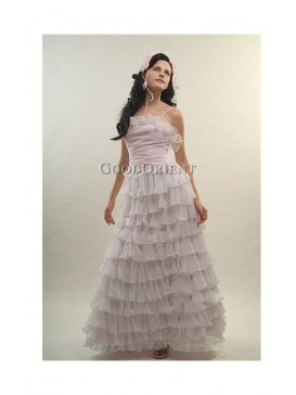 Flouncing Light Pink Dress