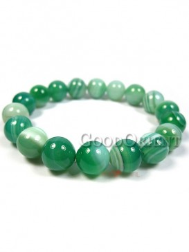 Hopeful Green of Agate Bracelet