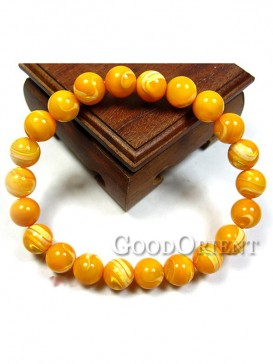 The Attracted Gold of Tridacna Bracelet