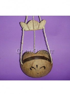 Coconut Shell of Hanging Ornament