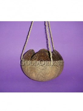 Hanging Decoration of Coconut Shell