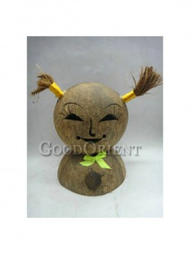 Coconut Shell of Girl