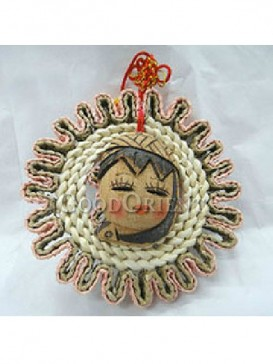 Handicraft Coconut Shell Doll