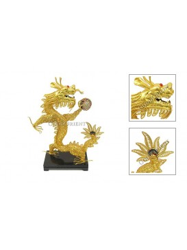 Dragon Playing Ornament