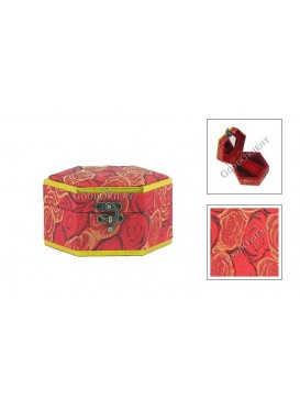 Rose Hexgon Jewelry Box