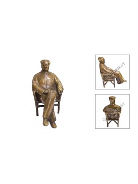 Chairman Mao Statue---Sitting