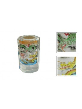 Dragon Inner Painting Pen Container