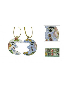 Cloisonne Small Moon