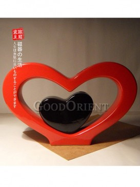 Soulmate Heart Shaped Chinese Porcelain Home Decor